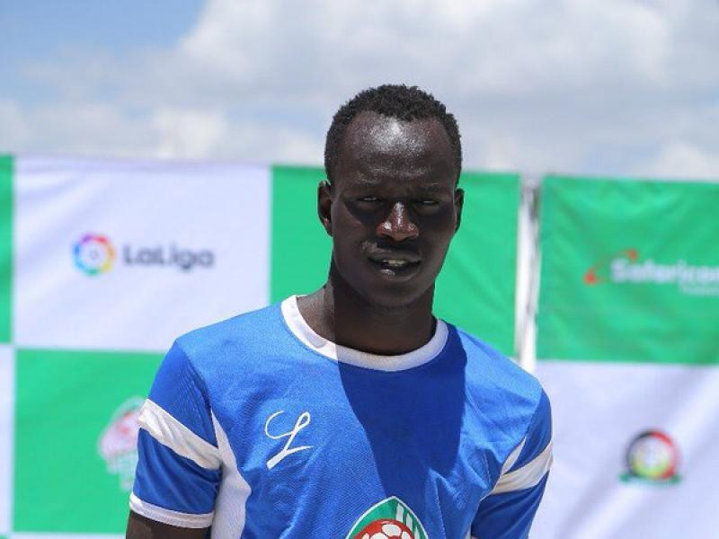Majak thanks Tusker team mates after scooping Young Player Award
