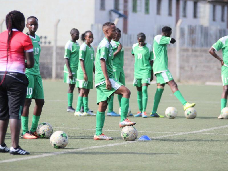 Harambee Starlets squad from Malawi test trimmed