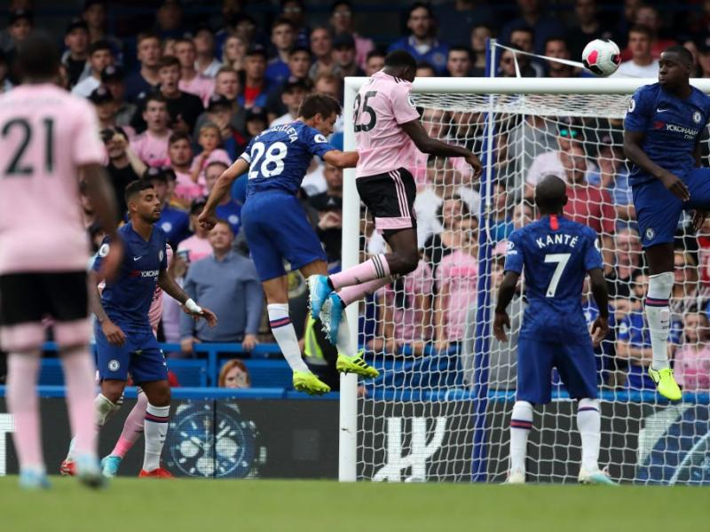 WATCH: Ndidi's stunning header against Chelsea