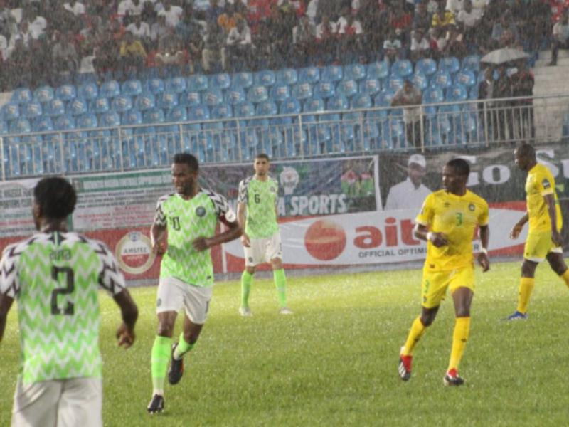 Image result for Zimbabwe's Warriors hold Super Eagles to a barren draw