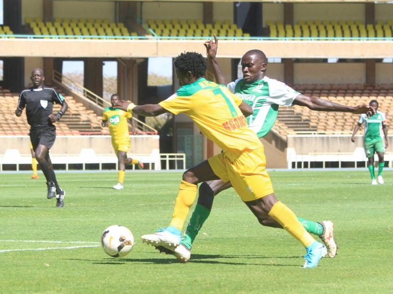 Kevin Kimani and James Kinyanjui start for Mathare United against Ulinzi Stars