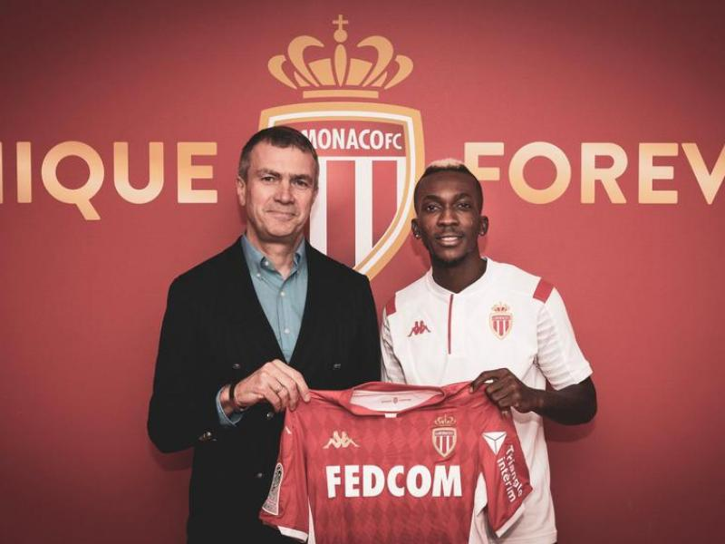 WATCH: Onyekuru trains with Monaco for first time