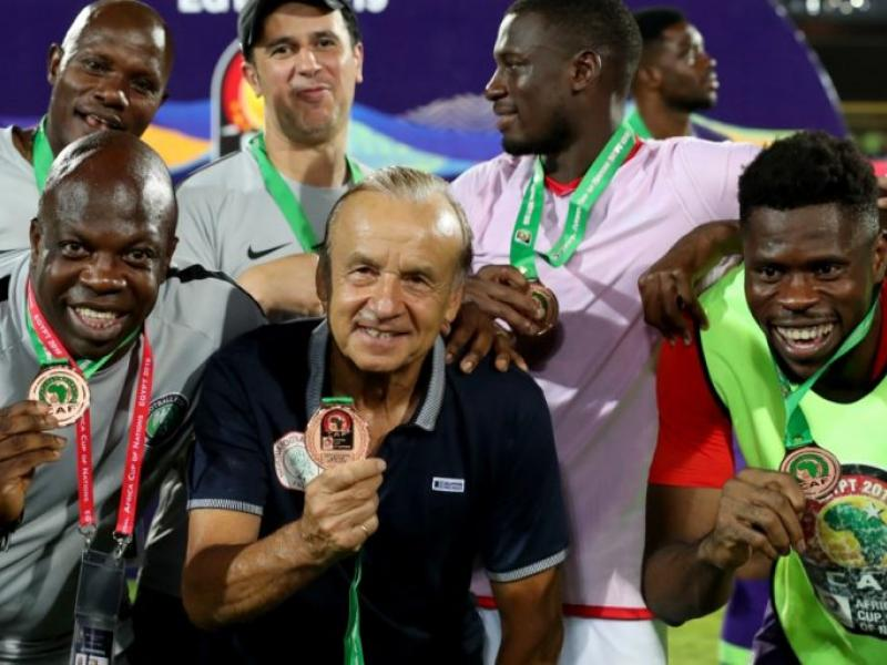 DR Congo show interest in Super Eagles coach Rohr