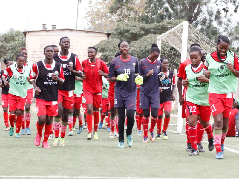 Ethiopia jets in ahead of Harambee Starlets friendly