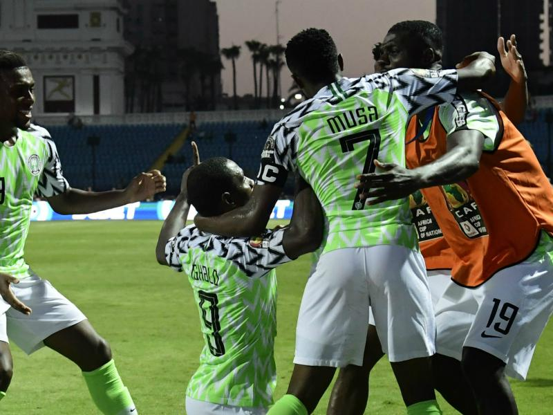 AFCON 2019: Super Eagles get back to training after win over Cameroon