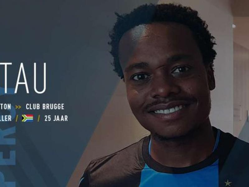 Breaking: Percy Tau signs for Club Brugge