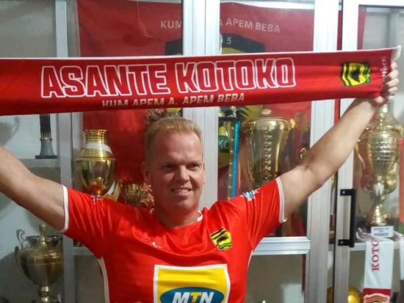 Ashanti Gold Boss accuses new Kotoko coach Zachariassen of CV lies