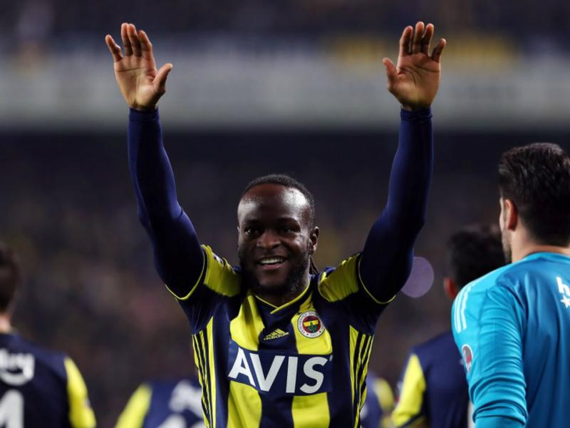 Victor Moses scores and assists in Fenerbahce's 5-0 victory
