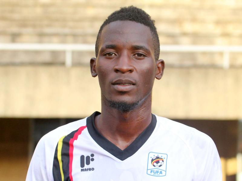 Uganda midfielder to miss AFCON after a knee injury
