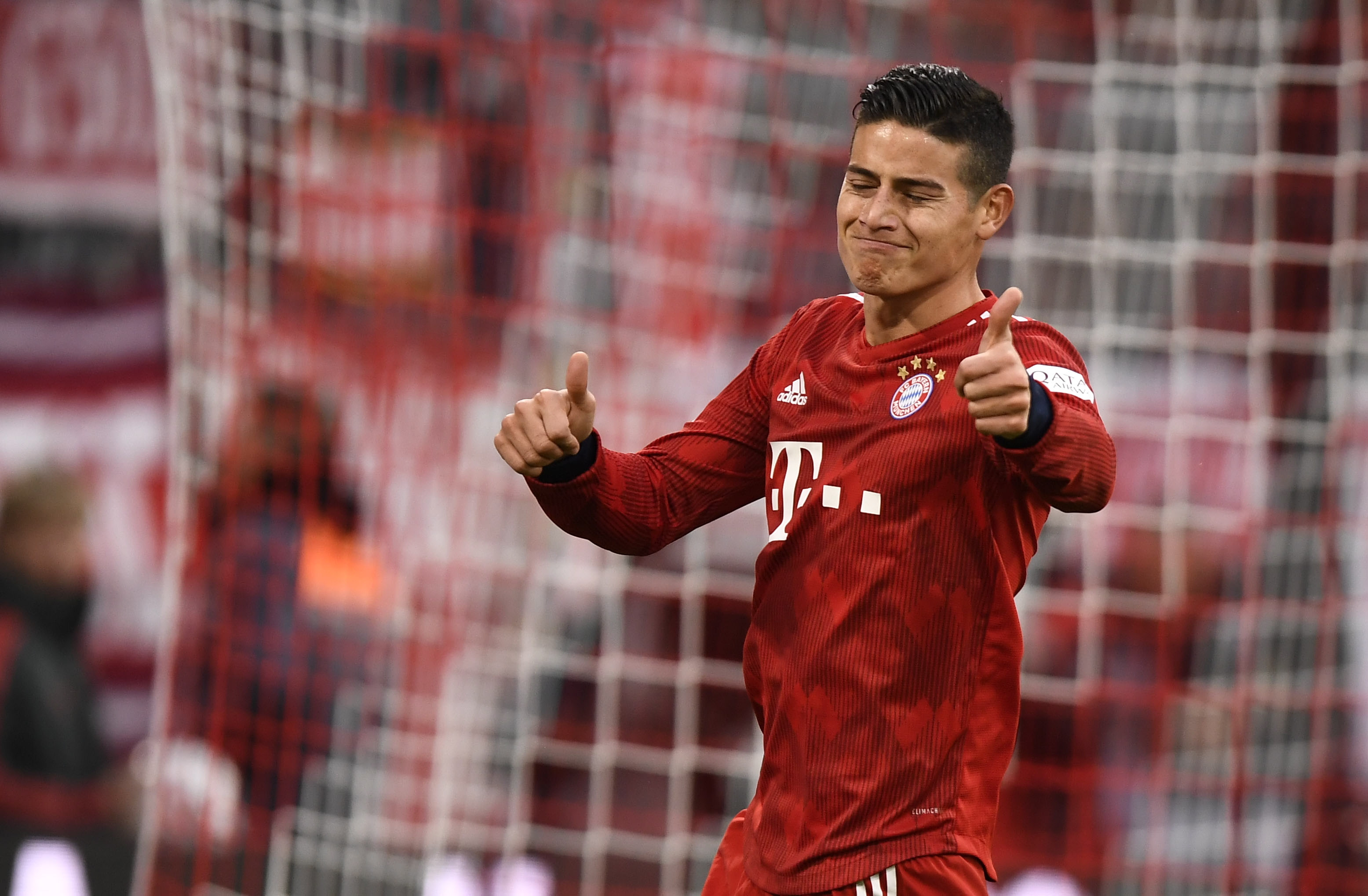 Ronaldo wants James Rodriguez at Juventus