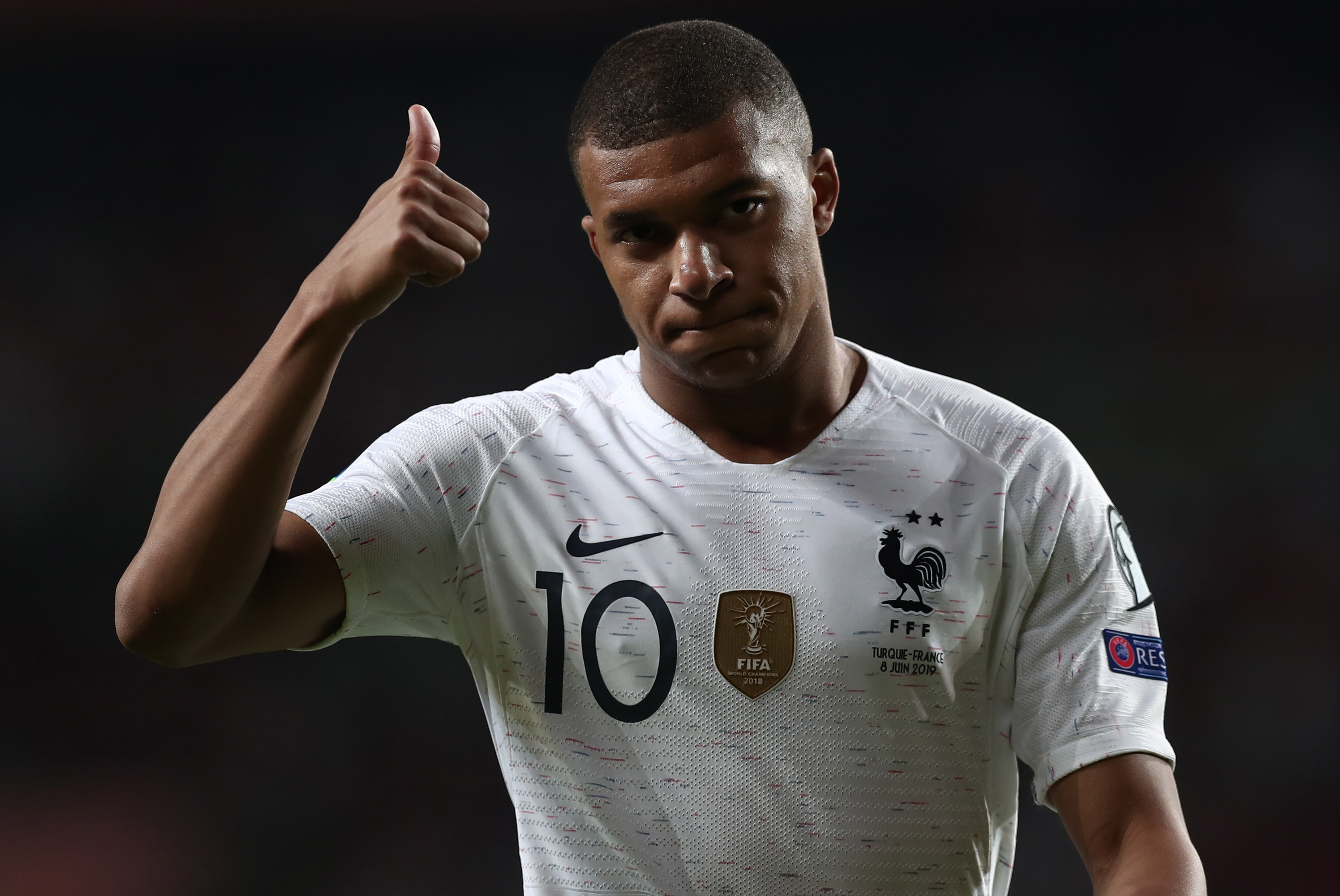 Mbappe hits out at 'Fake News' Twitter account