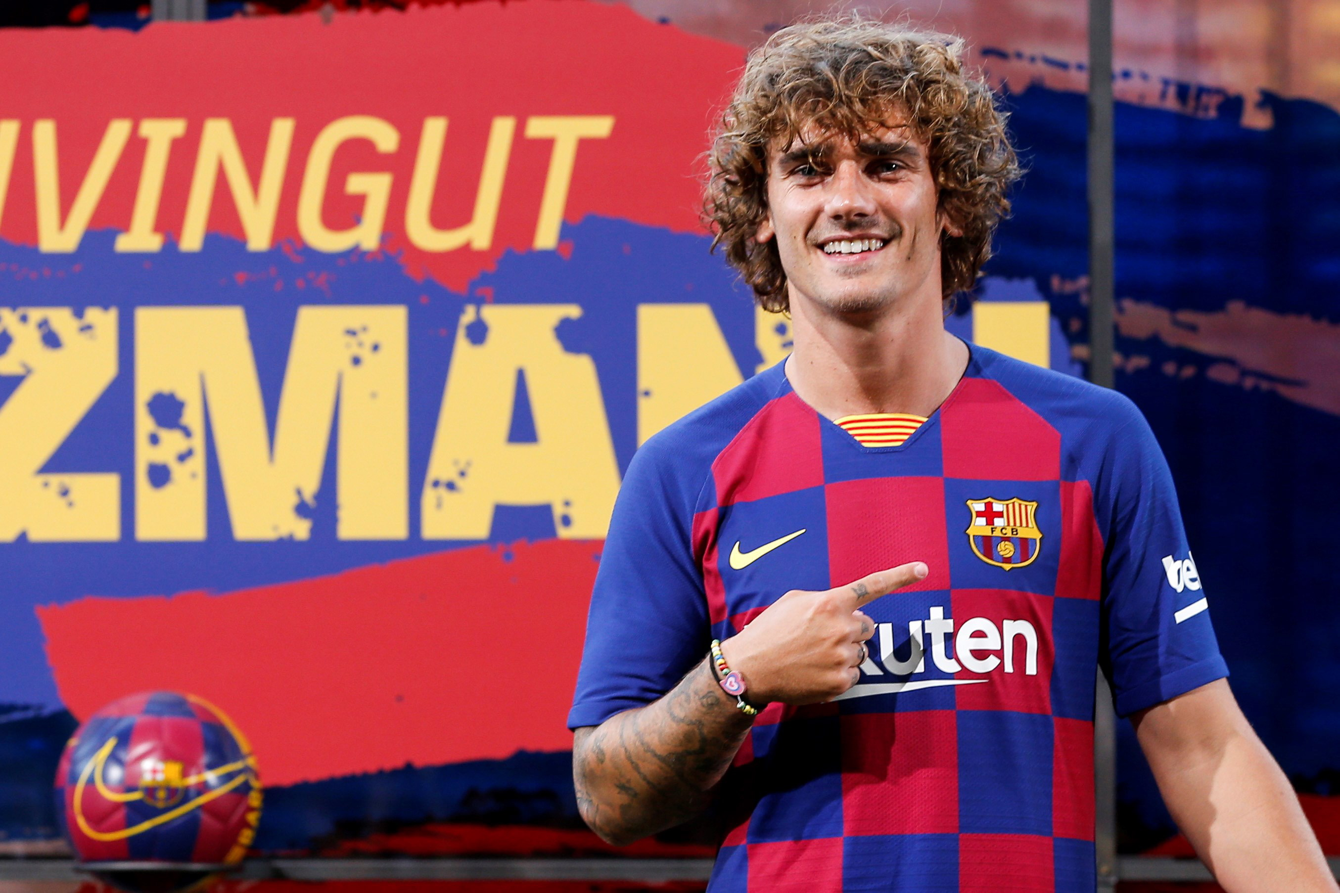 Antoine Griezmann says Messi is the face of football