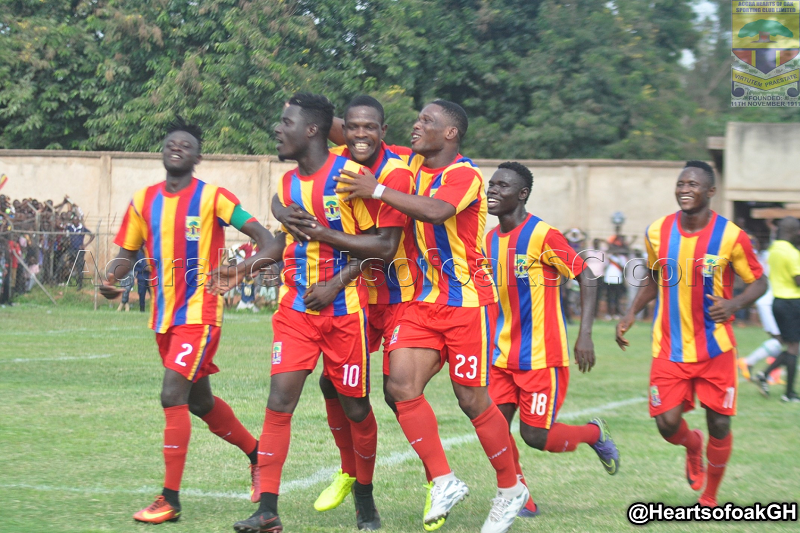 Hearts of Oak reports two players to Fifa for breach of contract