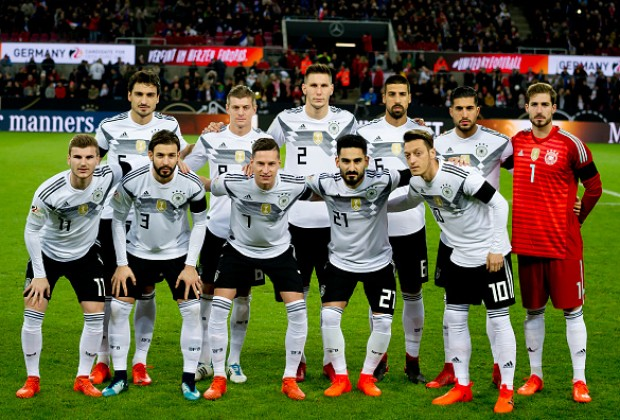 Ozil,Kroos starts for Germany against Korea