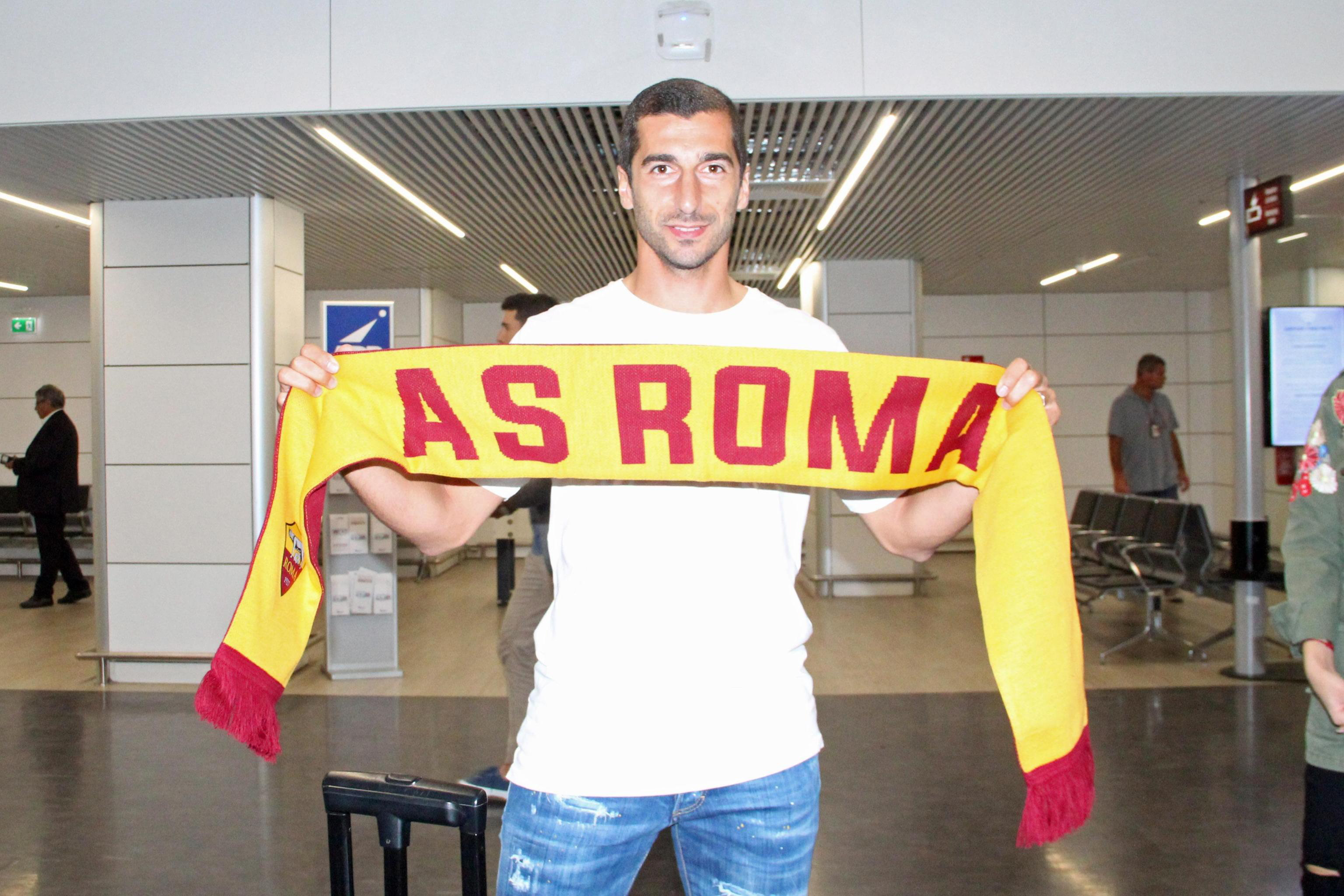 Arsenal rejects two Roma bids for Mkhitaryan
