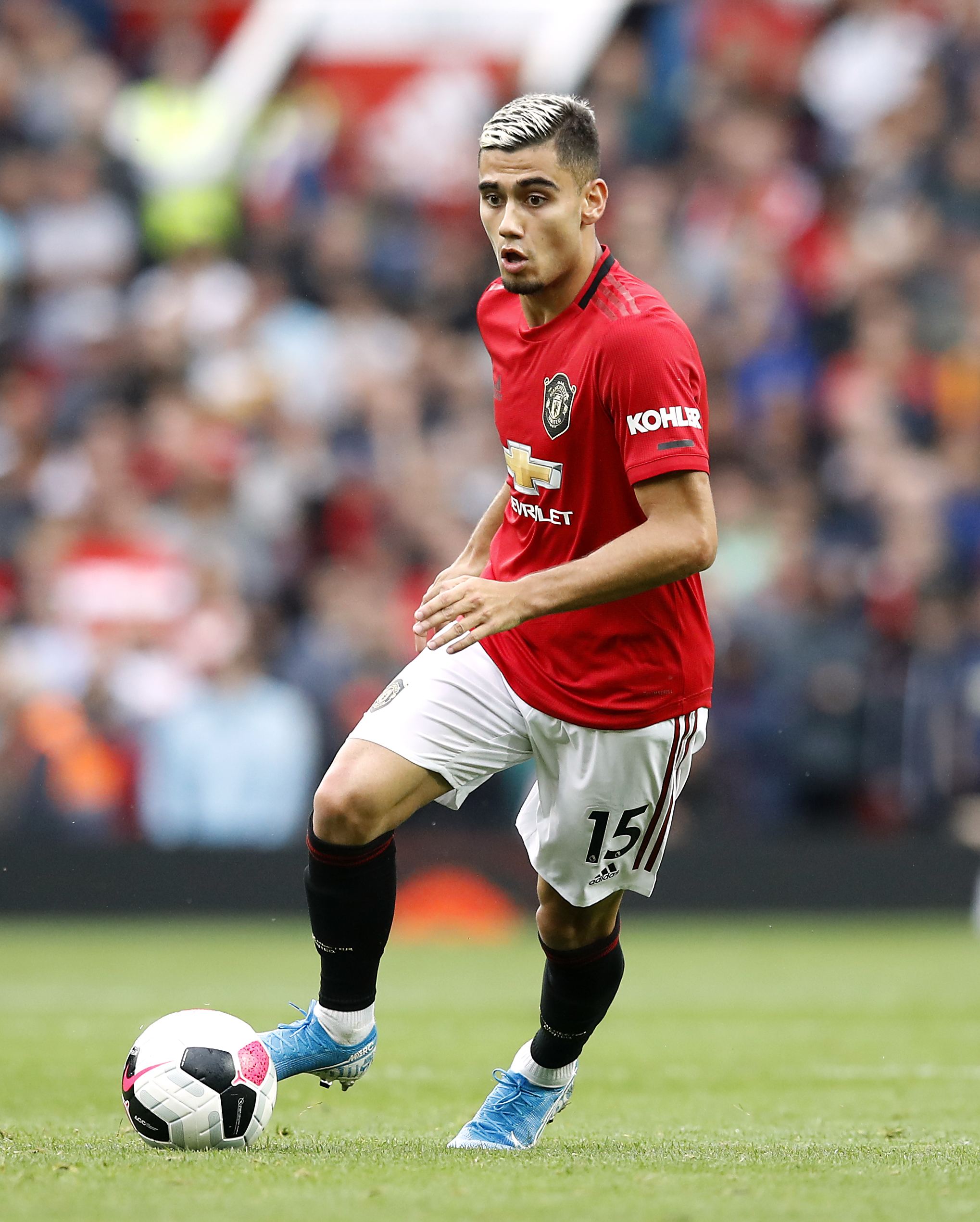 Andreas Pereira sends message to Manchester United teammate Fred