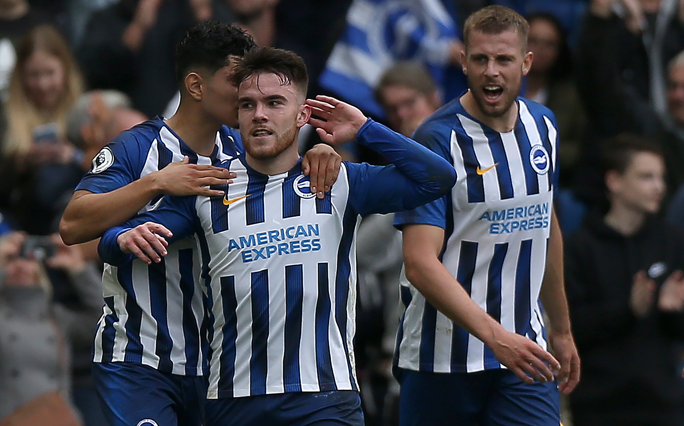Brighton & Hove Albion striker Aaron Connolly set for new contract