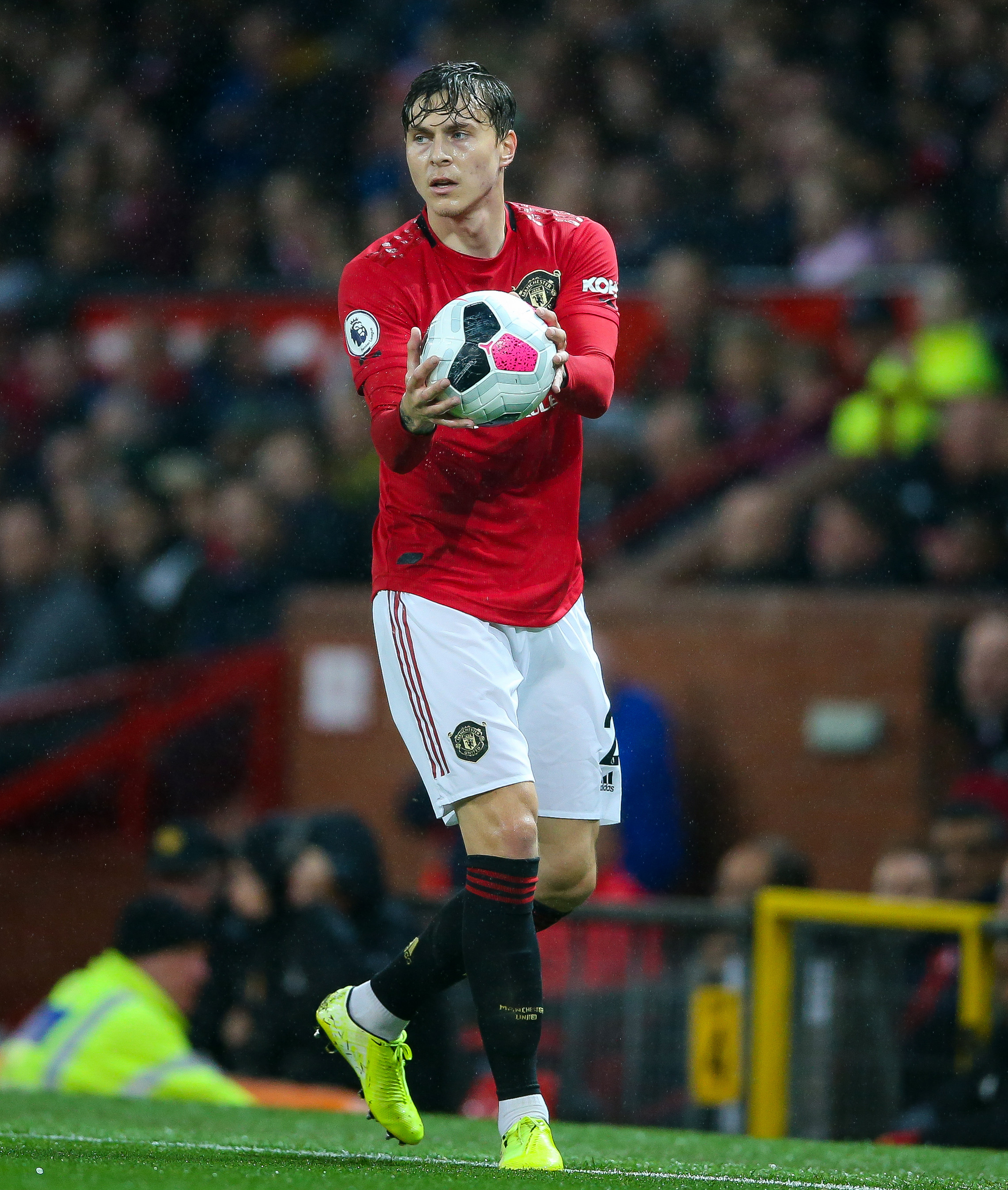 Manchester United defender Victor Lindelof wins Swedish golden ball