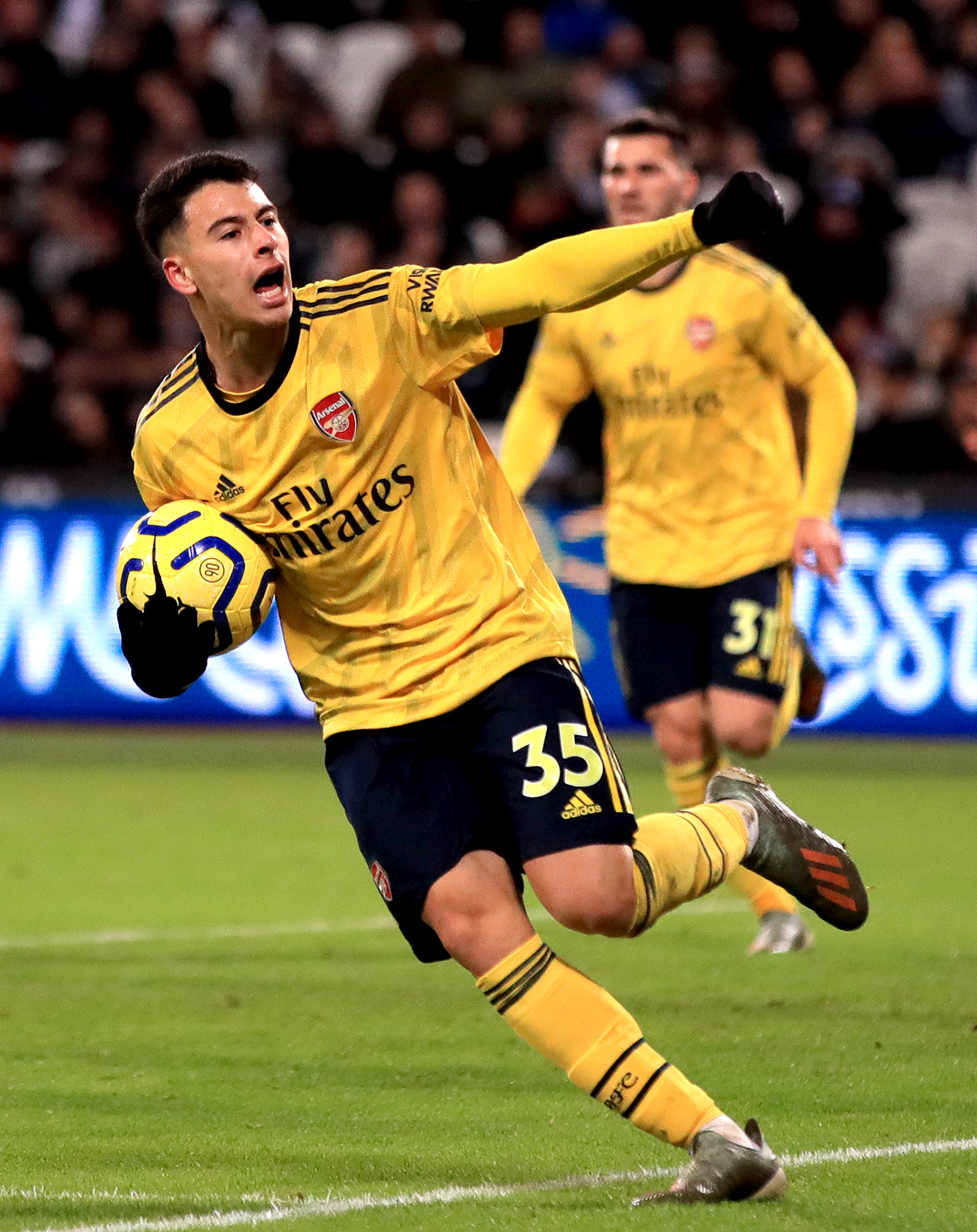 Gabi Martinelli: I want to win the Champions League with Arsenal