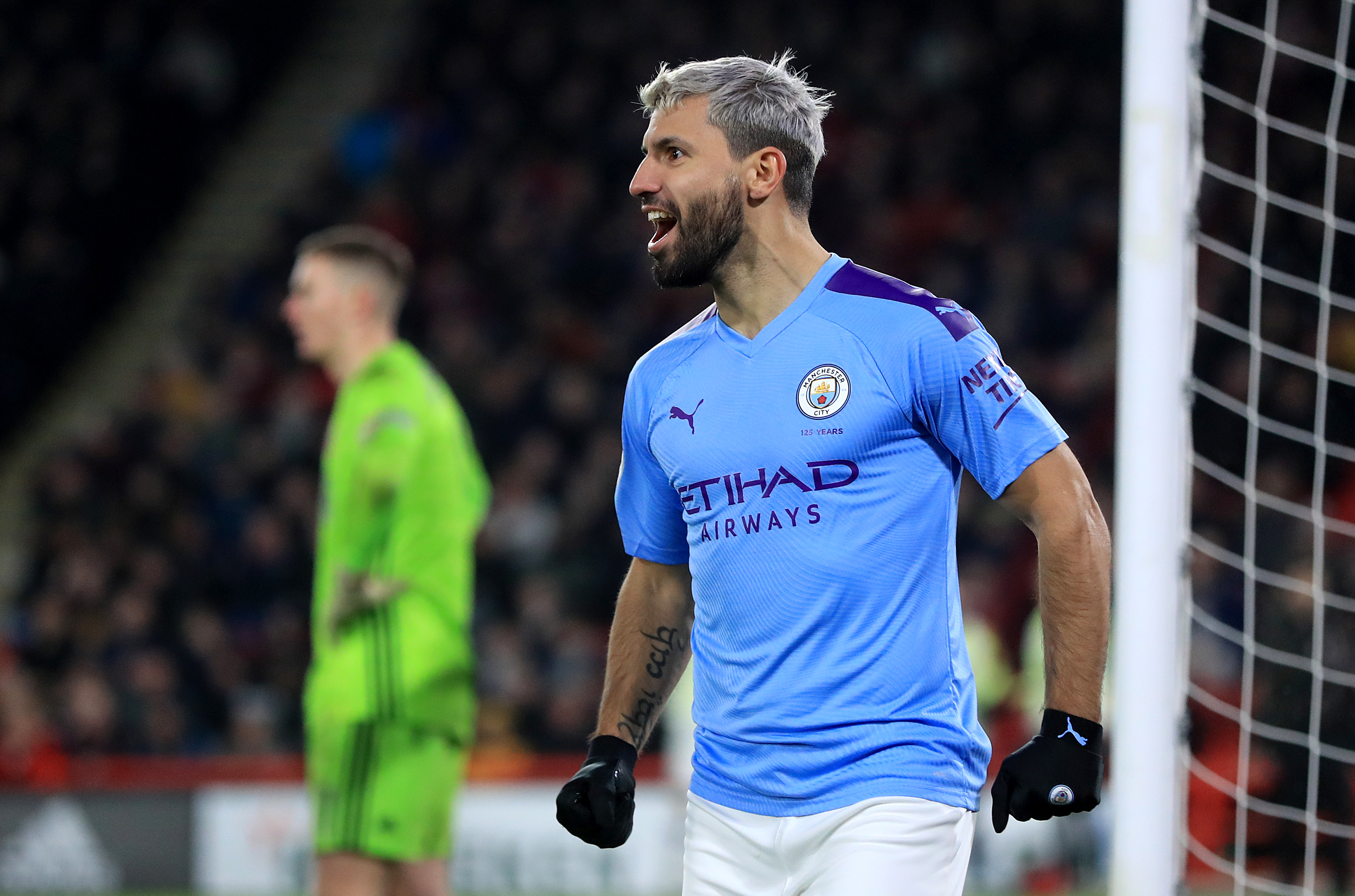 Aguero wins record seventh EA SPORTS Player of the Month award