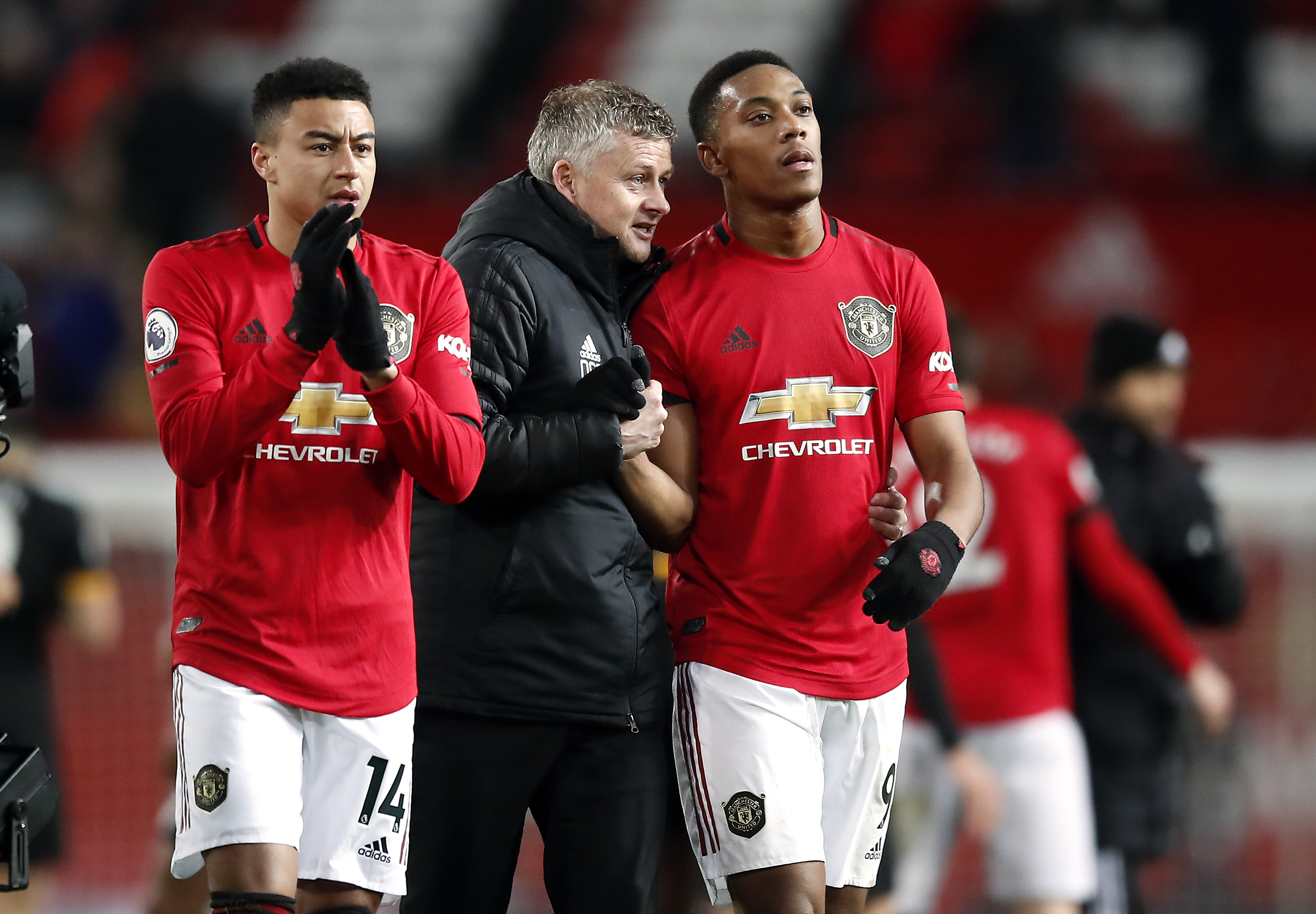 Ole Gunnar Solskjaer and Anthony Martial slammed after Manchester United draw