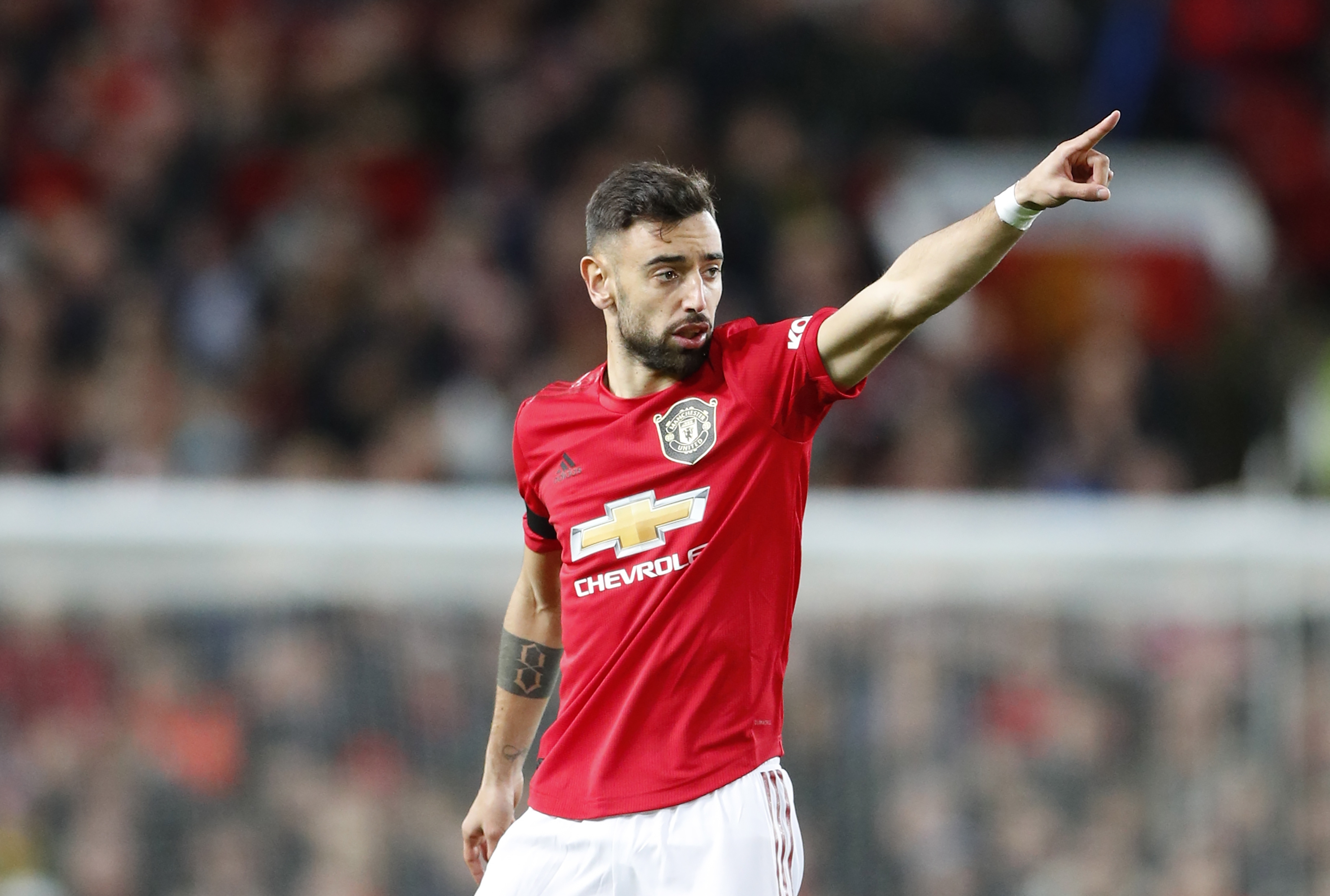 Bruno Fernandes reveals who inspired his Manchester United move