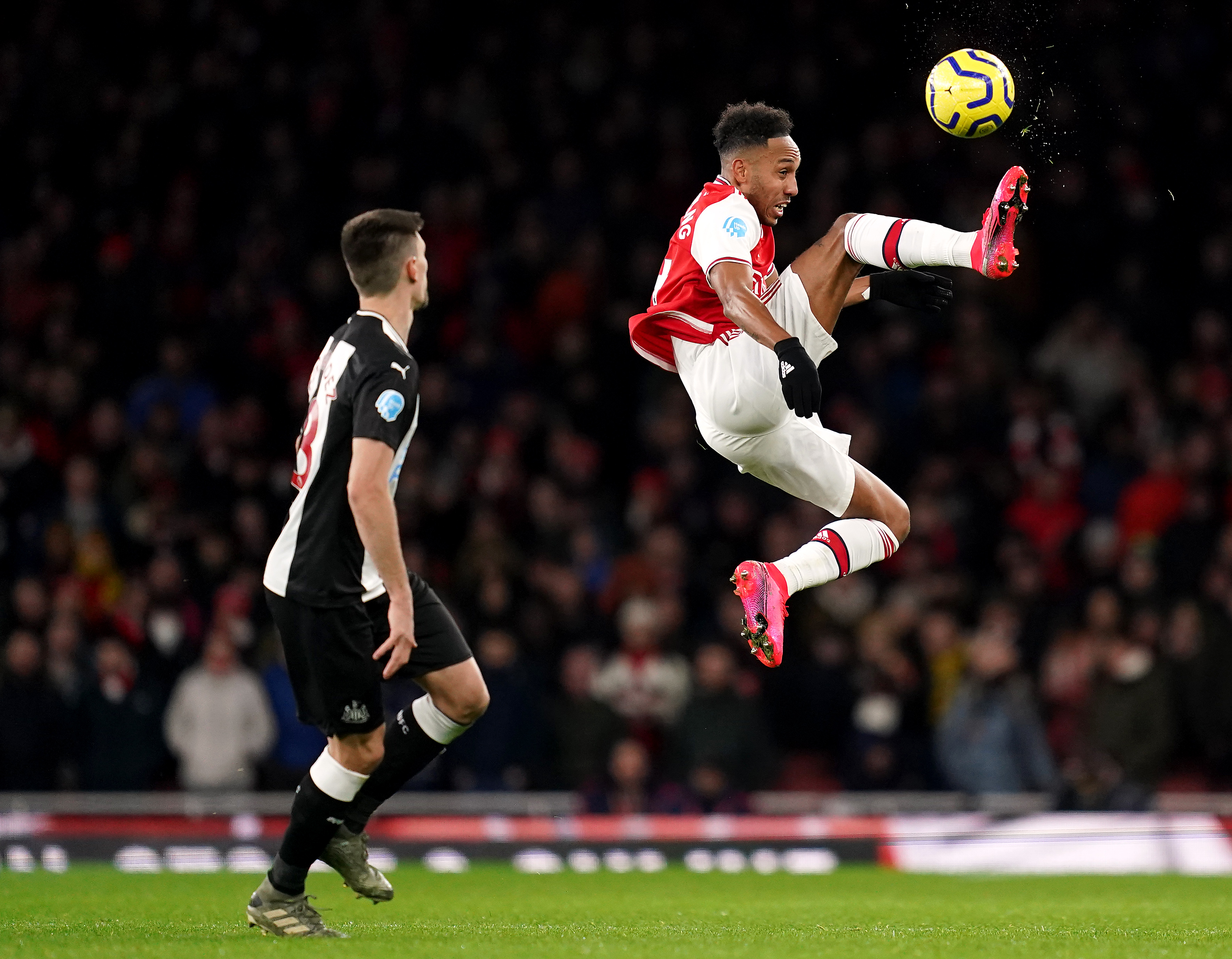 Arsenal 4-0 Newcastle: Lacazette on the score sheet in easy win for the Gunners