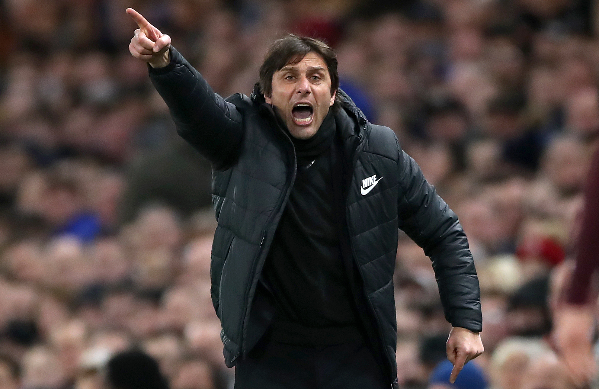 Former Chelsea boss Antonio Conte dismisses Roma move