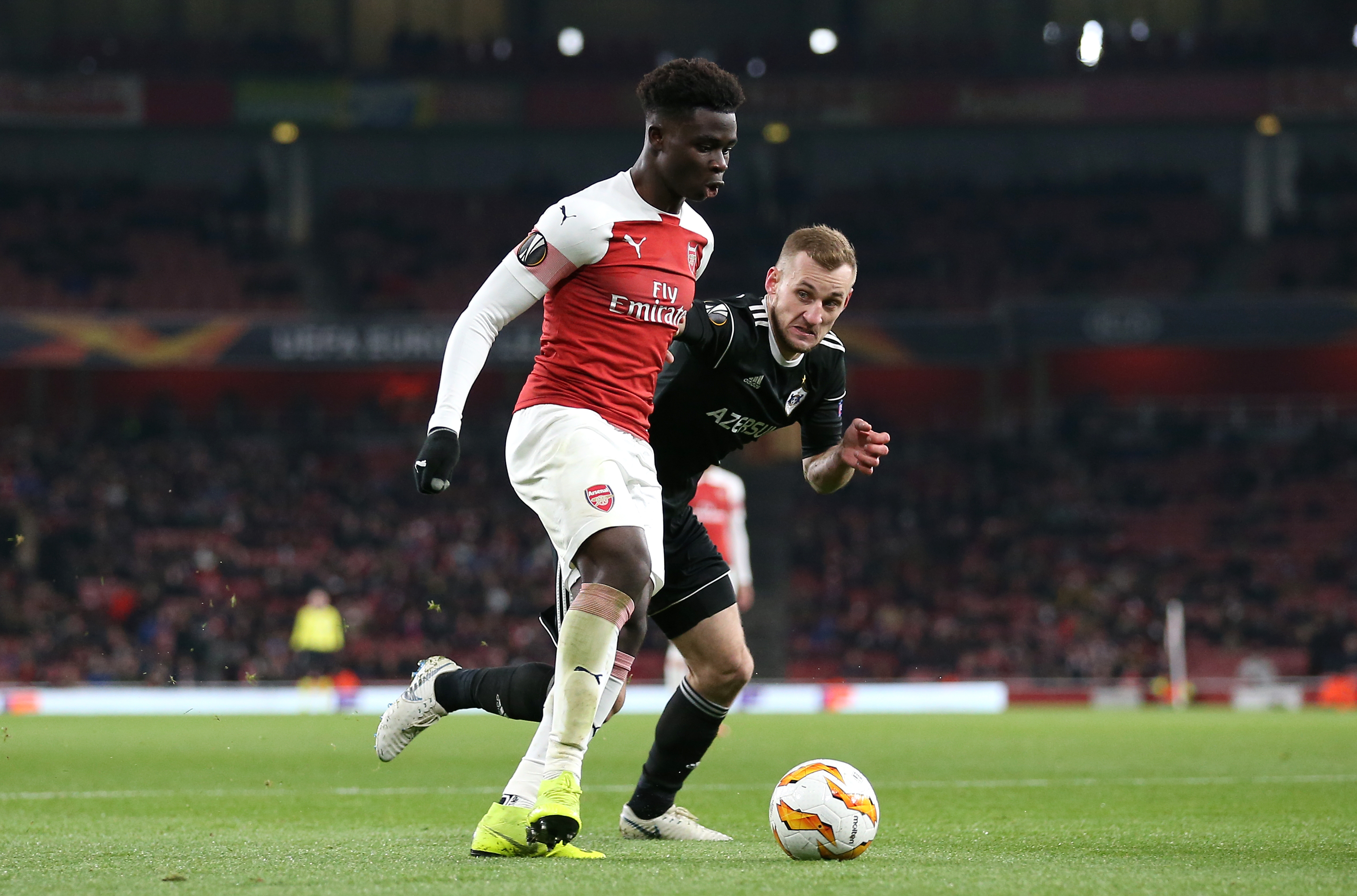 'I think he's the best young player in the league' - Arsenal star hails Saka following recent performances
