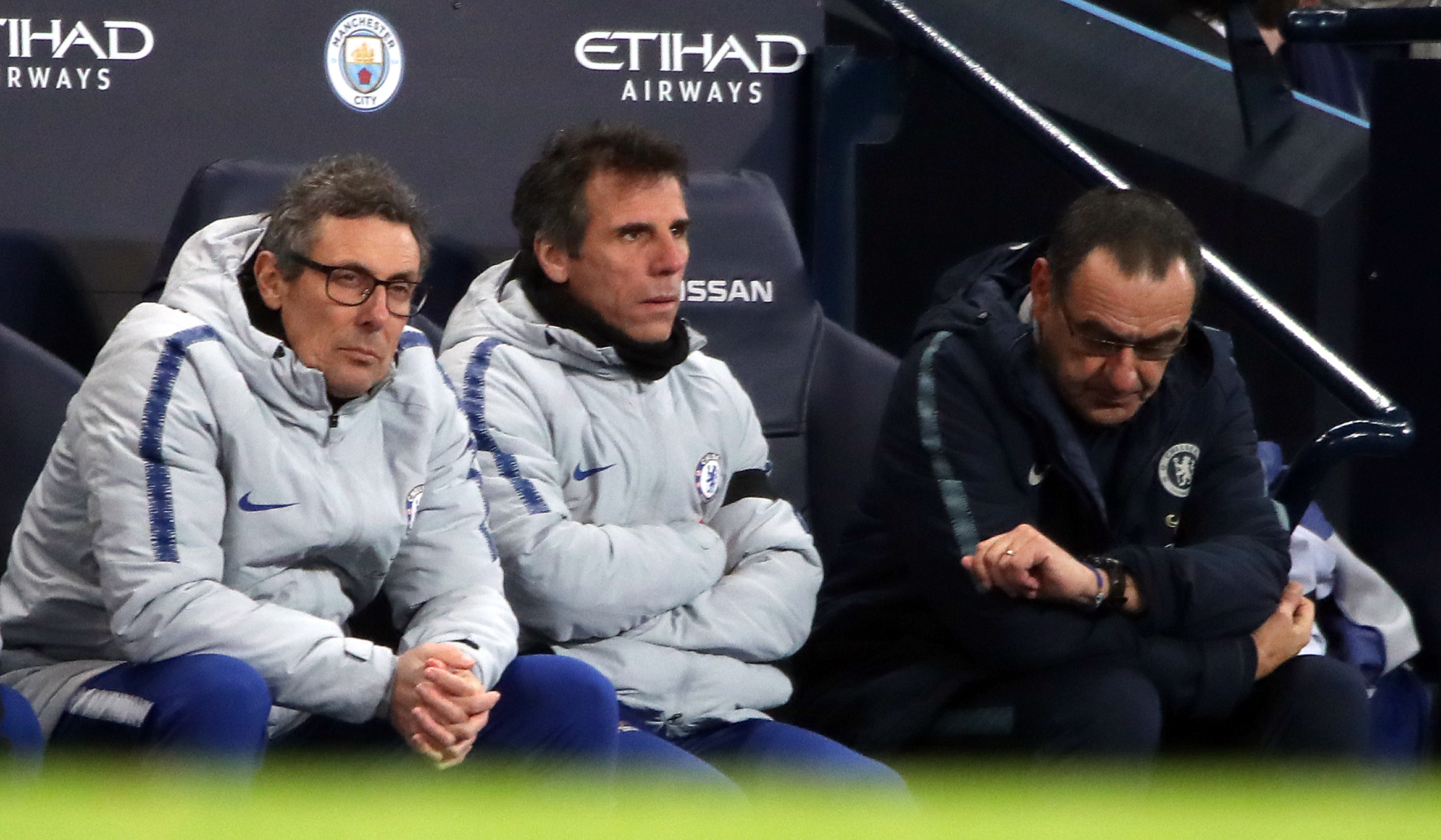 Zola reveals how Chelsea made mistake by allowing Sarri to leave