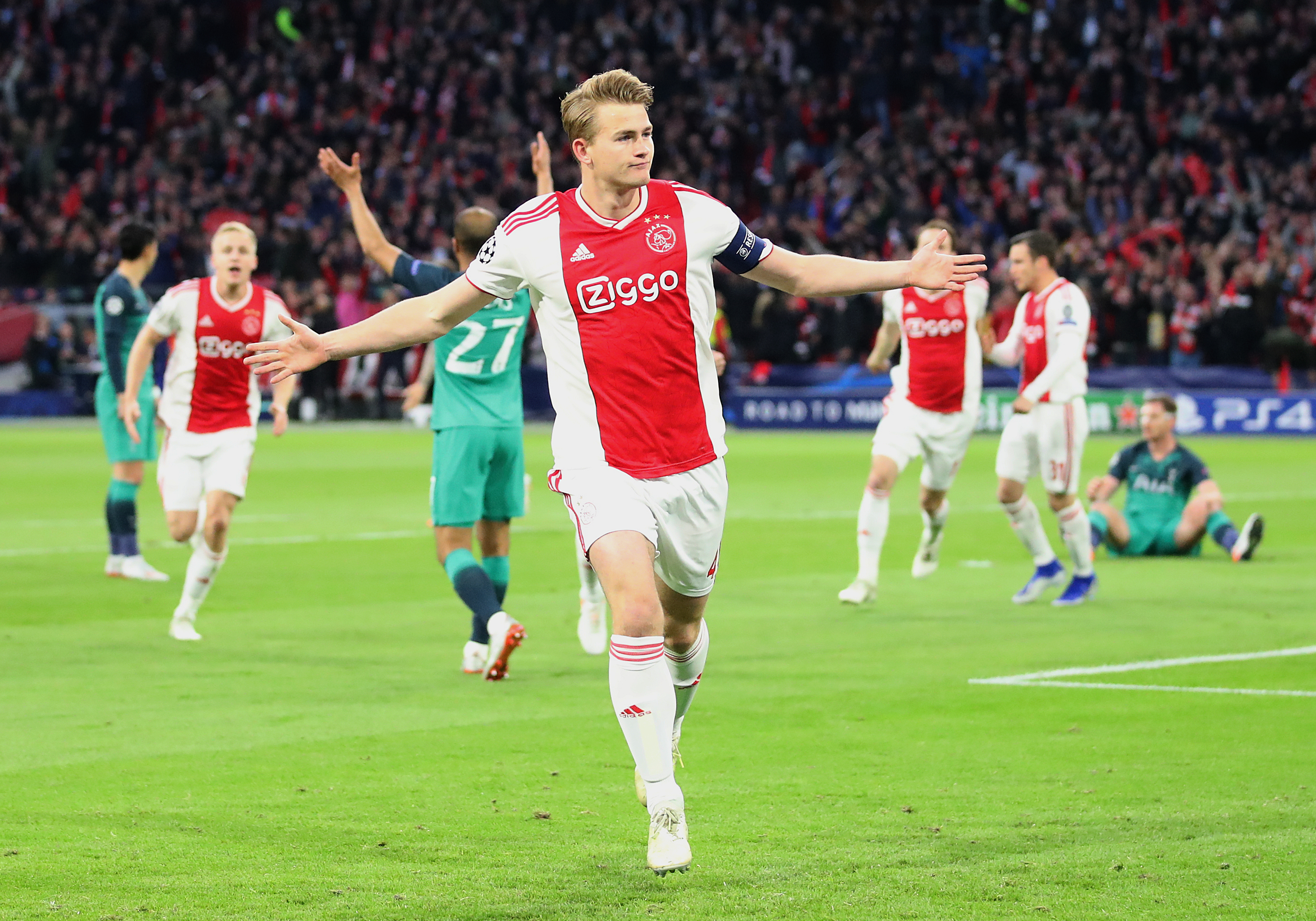 Manchester United, Liverpool target de Ligt admits transfer talk