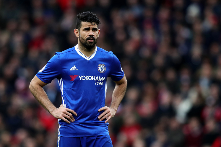 Costa in trouble
