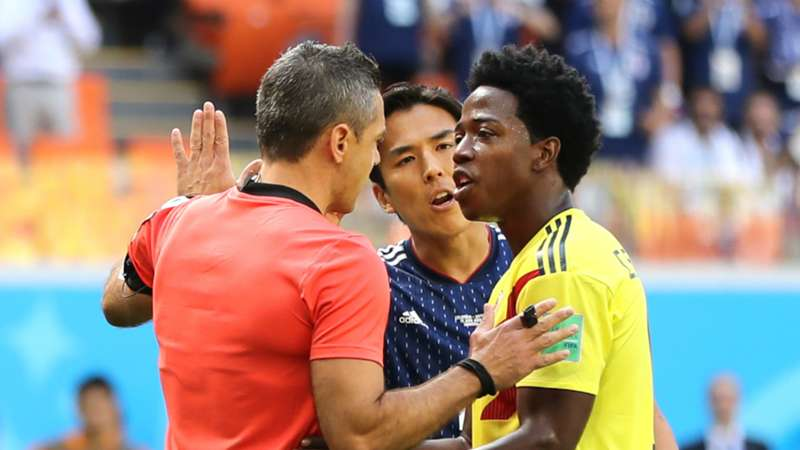 Another record! Second World Cup's quickest red card