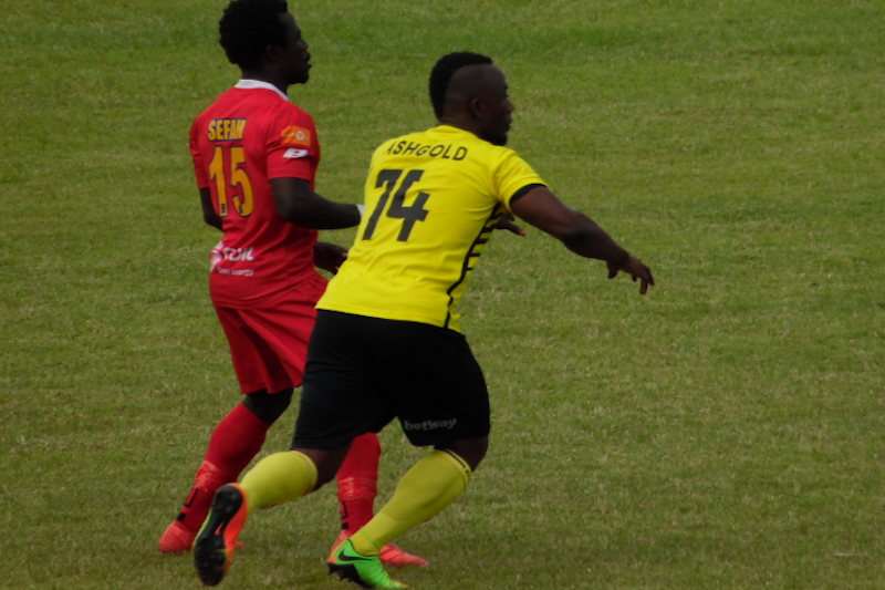 Ashgold revenge first leg defeat against Kotoko in the Ashanti friendly