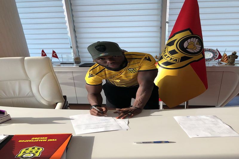 Sulley Muniru joins Yeni Malatyaspor