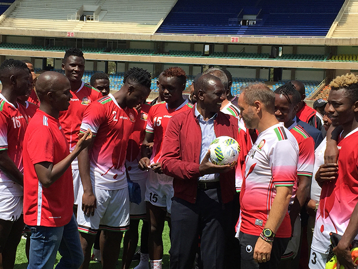 Harambee Stars promised Ksh 50 Million if they beat Ethiopia