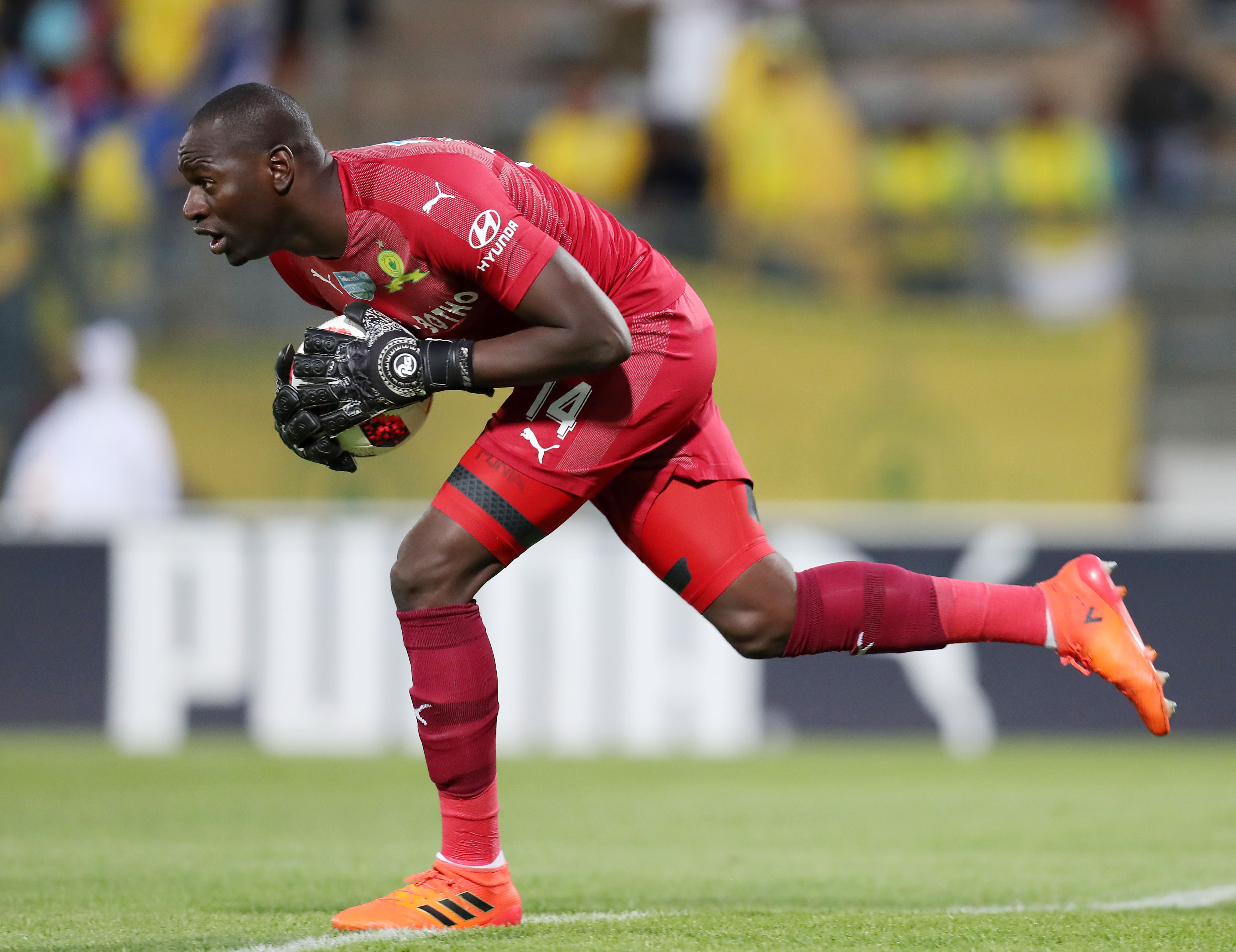 Uganda & Sundowns' Onyango Listed Alongside De Gea, Buffon in Best in the World