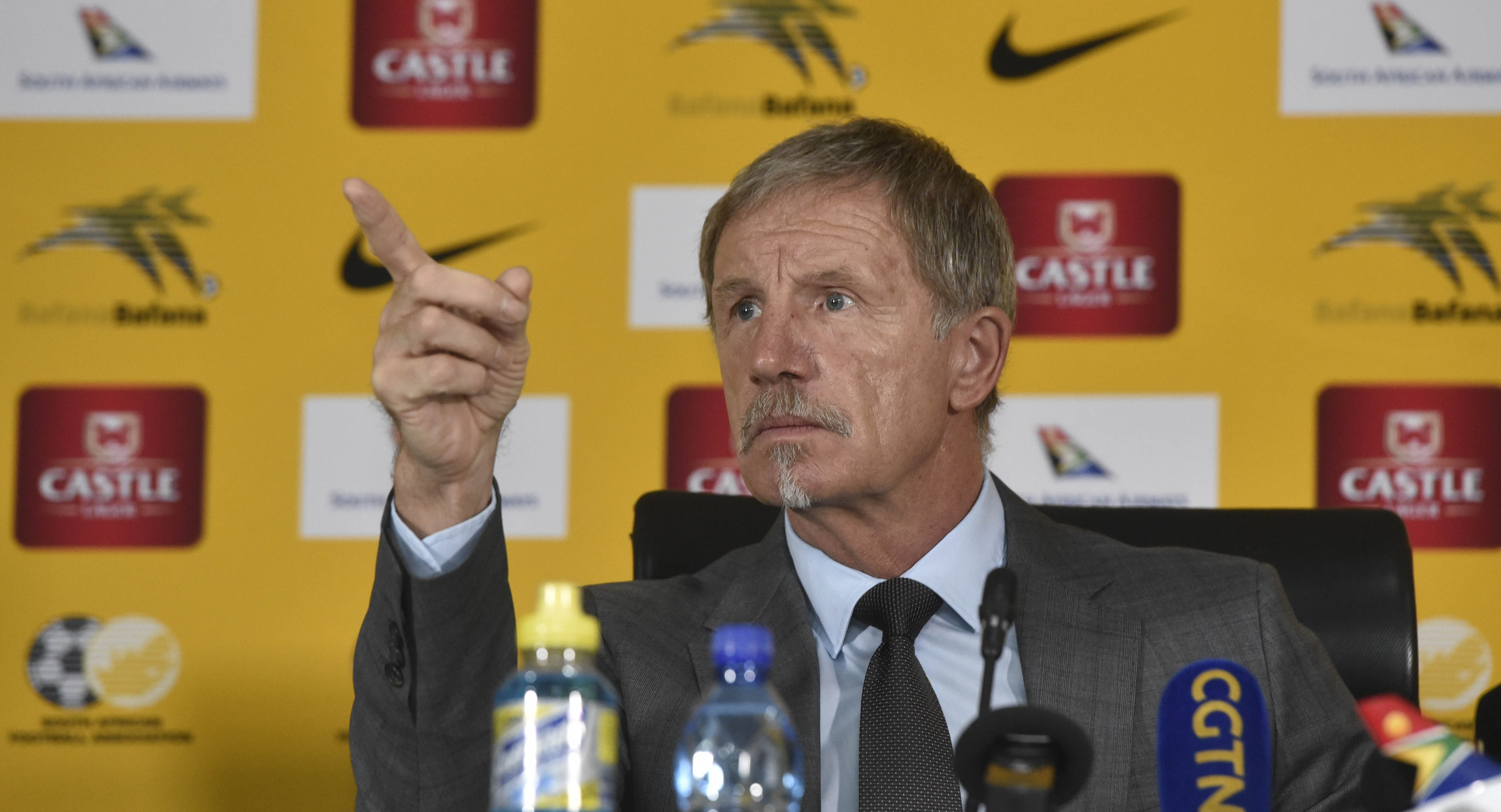 SA coach Baxter reveals details of Mourinho & Wenger texts after Egypt win