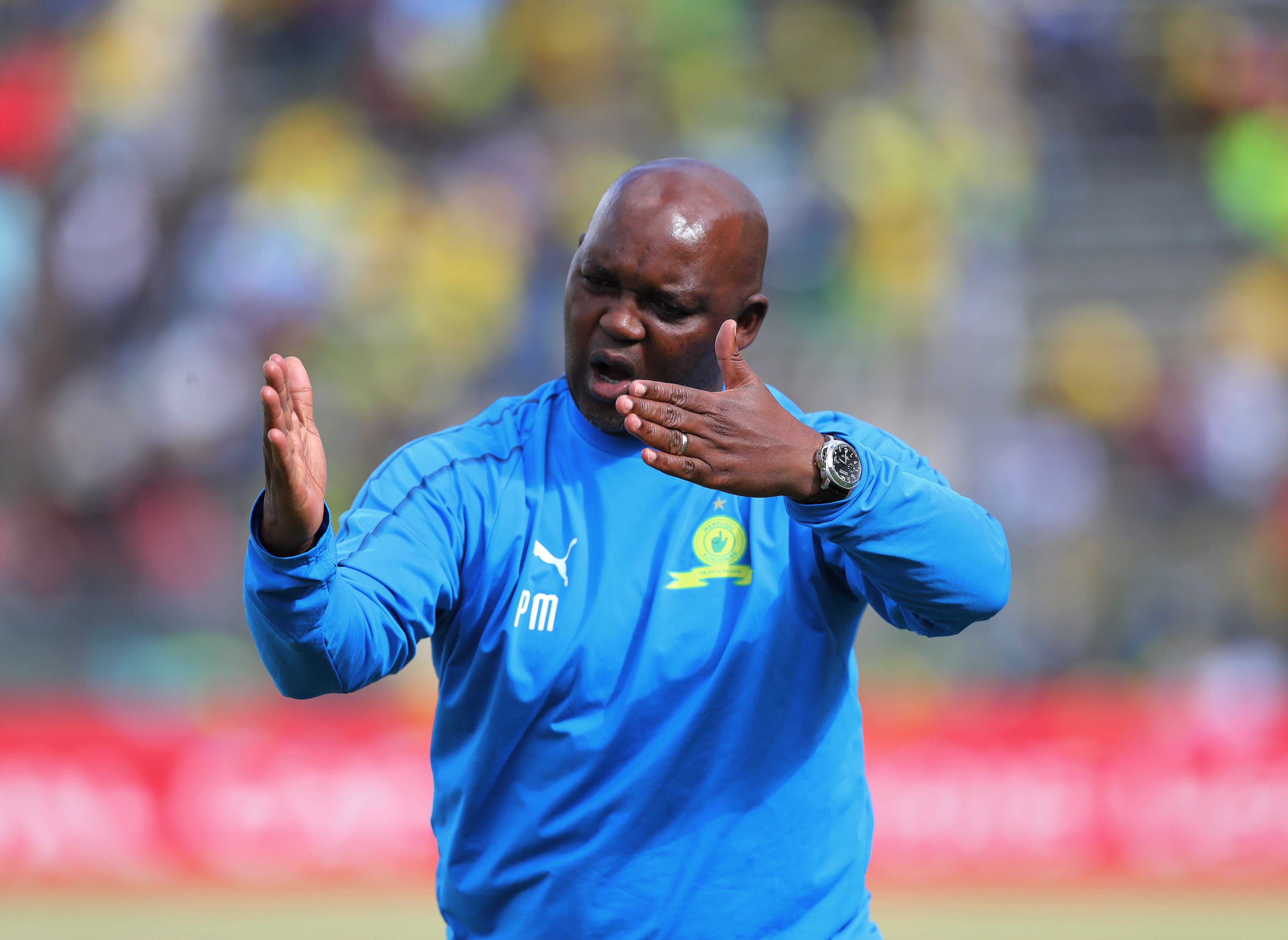 Mosimane comments on doubling-up as Bafana & Sundowns coach