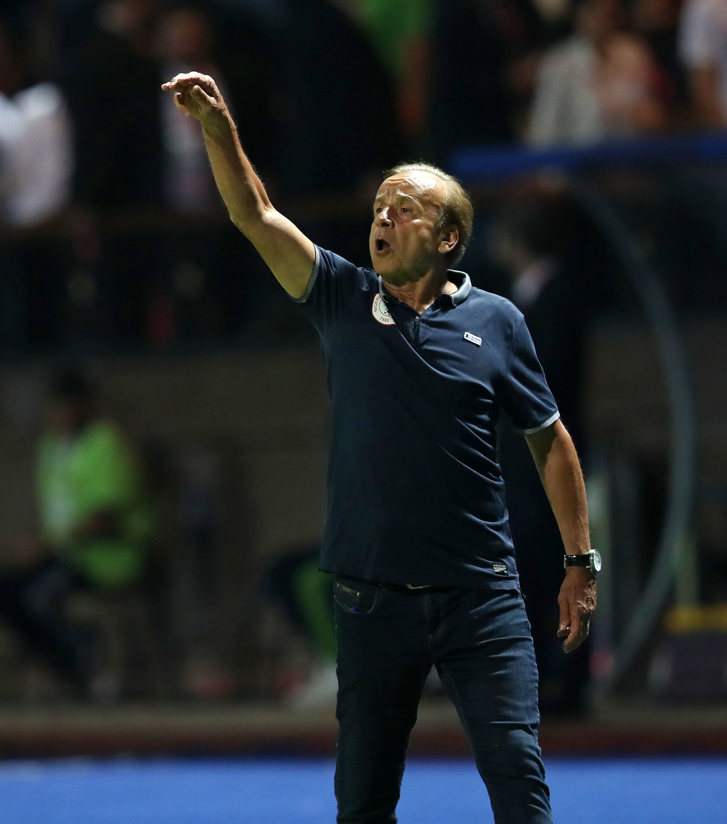Rohr hints at signing new Super Eagles contract extension