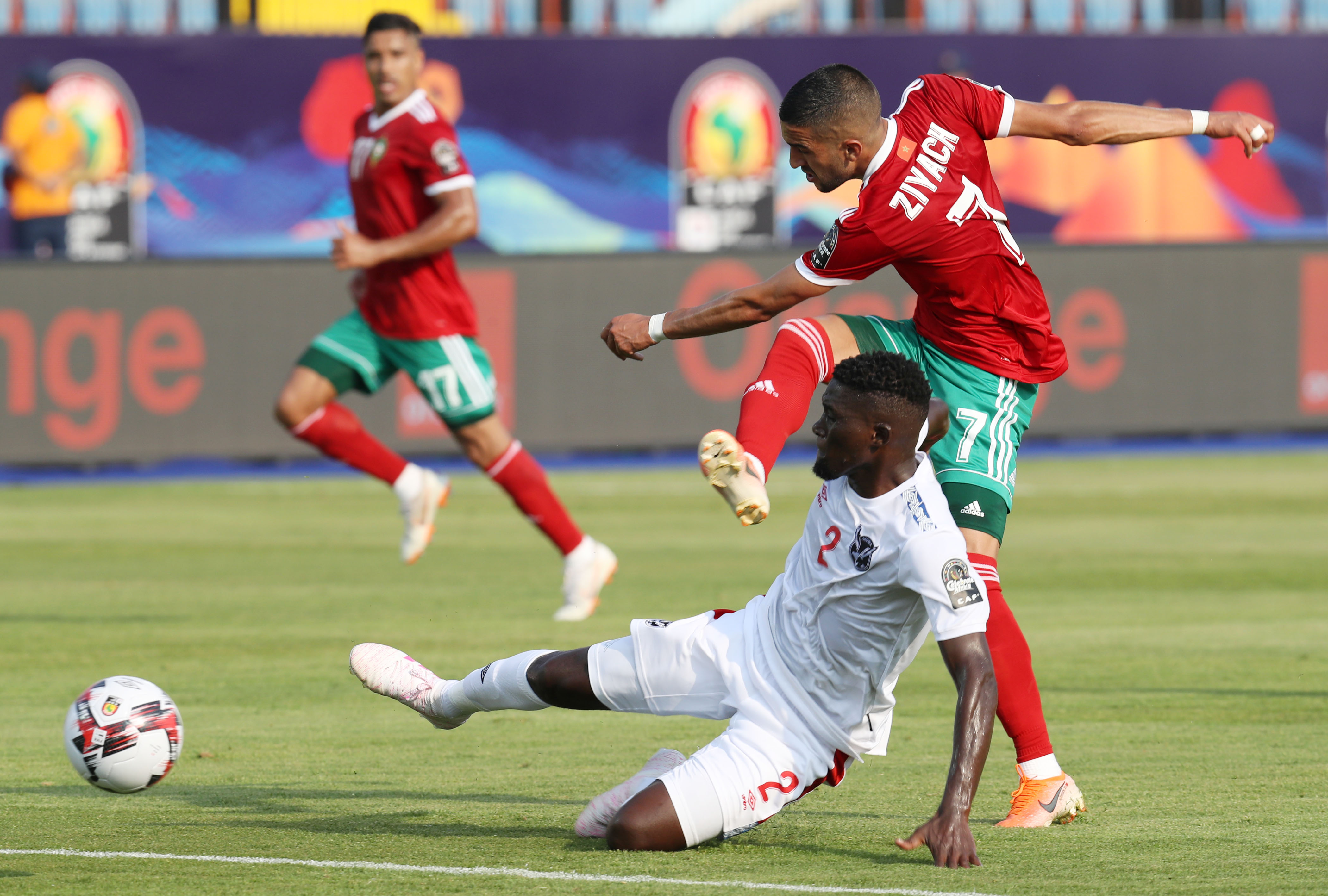 Image result for Hakim Ziyech afcon 2019