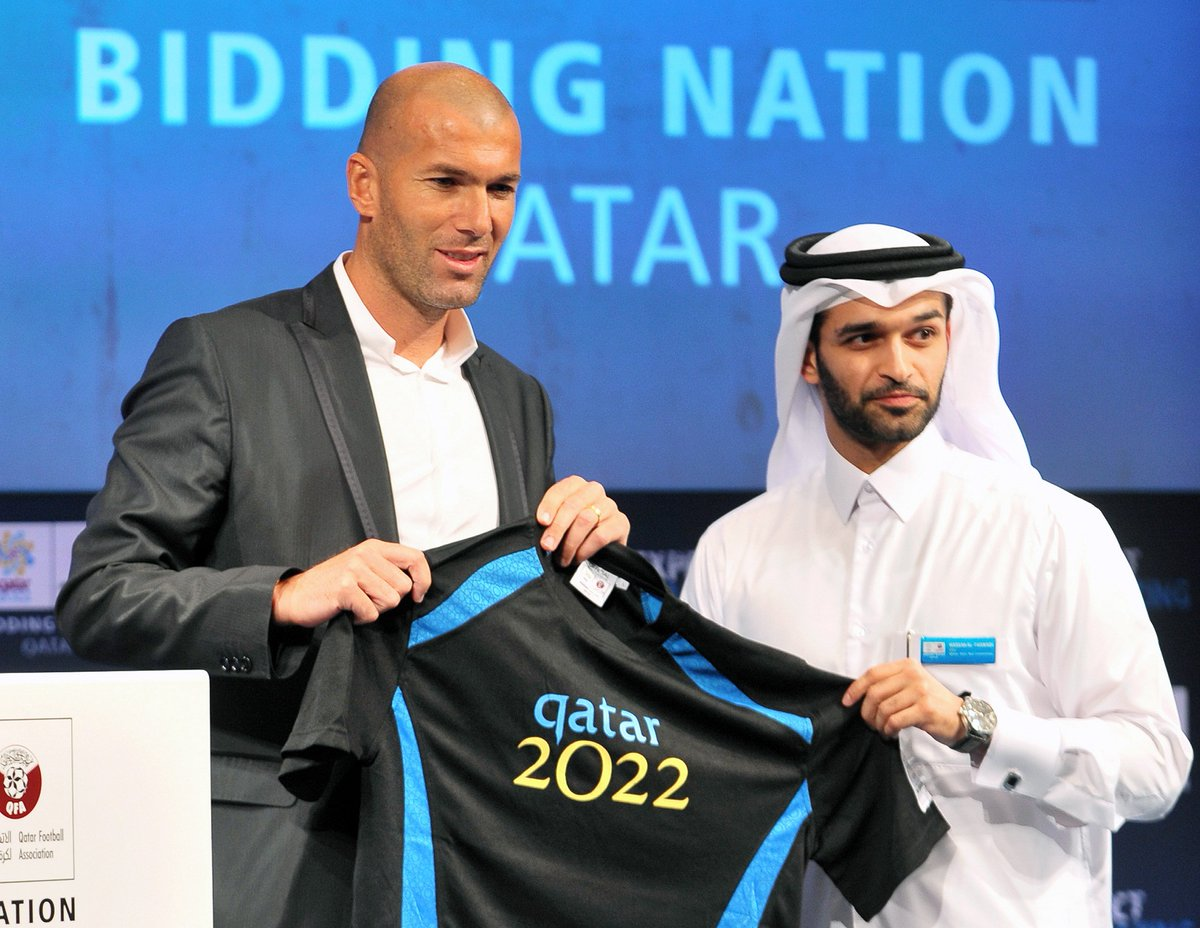 Image result for Zidane linked with shock move to Qatar