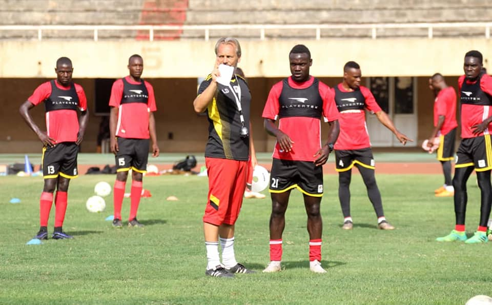 AFCON 2019 Q: Uganda Cranes coach upbeat ahead of Lesotho clash