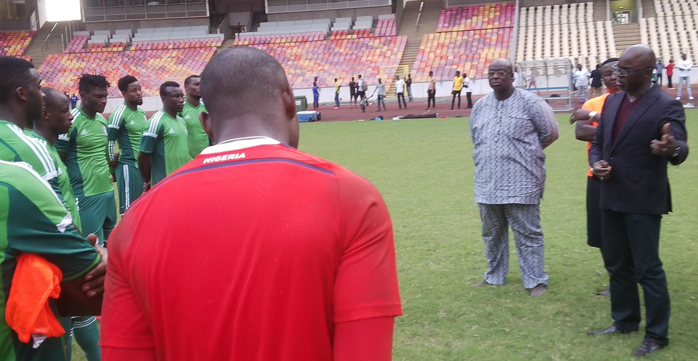 NFF in showdown talks with Super Eagles