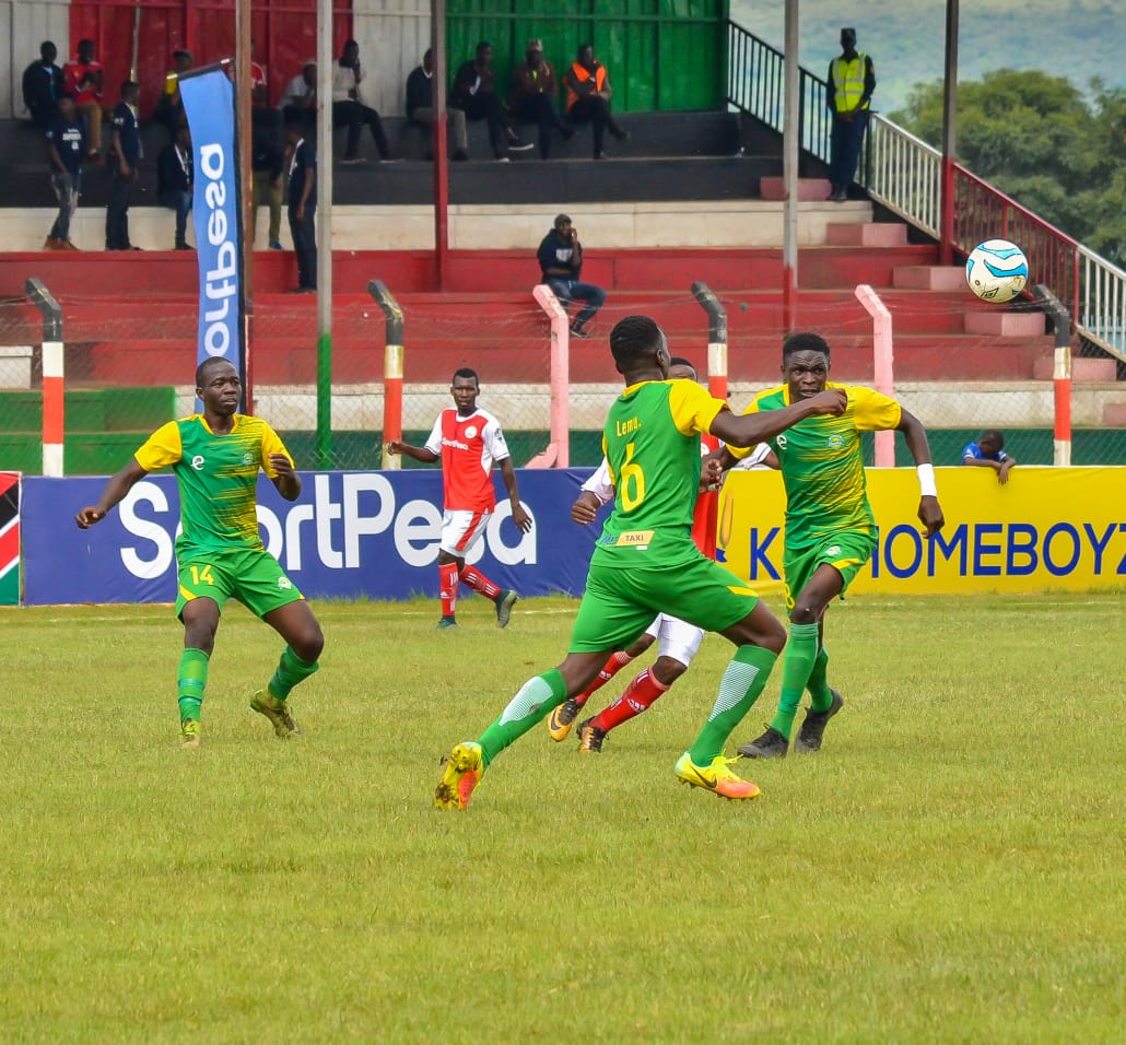 Rupia scores as Nzoia falls to Sharks