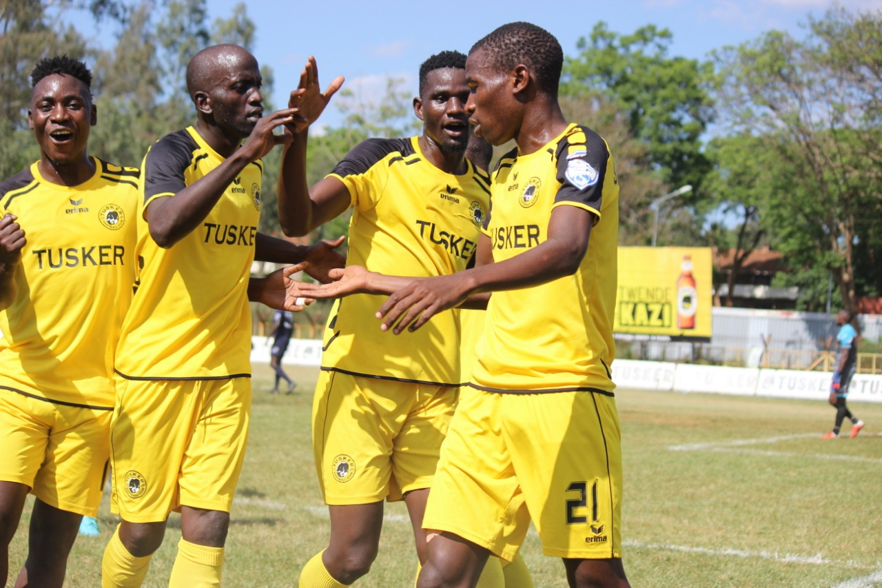 Tusker forward targets Player of the Month gong