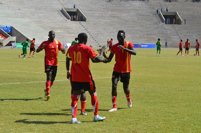 Kateregga, Aucho called to Uganda Cranes team for Ghana, Niger build up matches