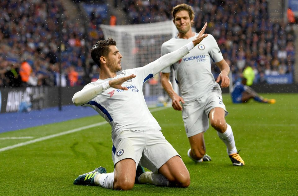 Lampard: Morata will only get better