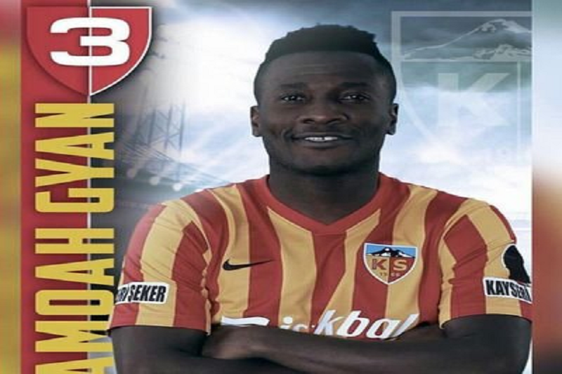 Asamoah Gyan to leave Kayserisor over playing time