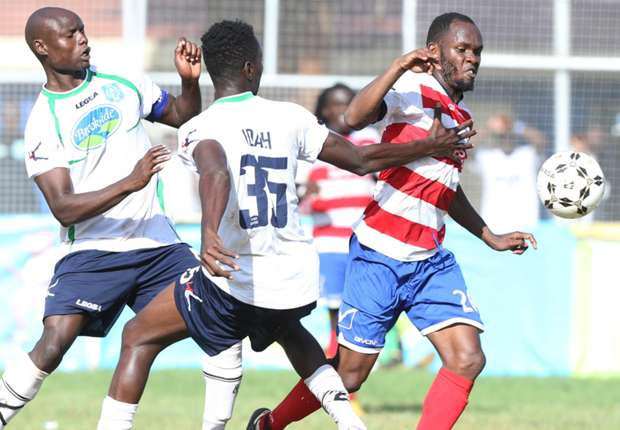 Isuza spot-on as AFC Leopards claws Thika United to end winless run